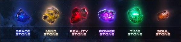 De Infinity Stones uit de Marvel Cinematic Universe