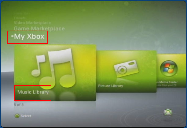 How To Play Custom Music On Your XBox 360