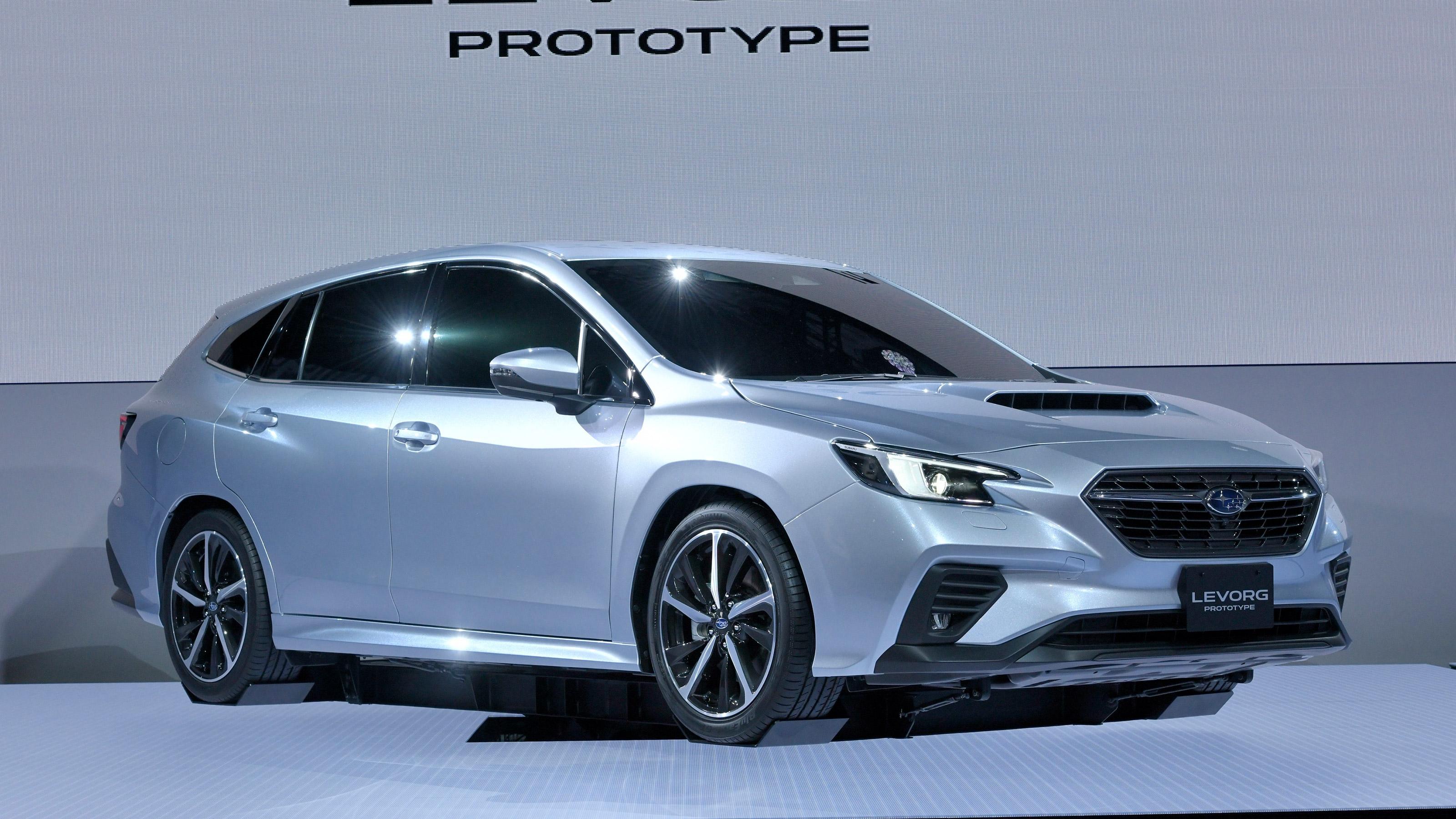 2020 Subaru Levorg Revealed At Tokyo Motor Show Evo