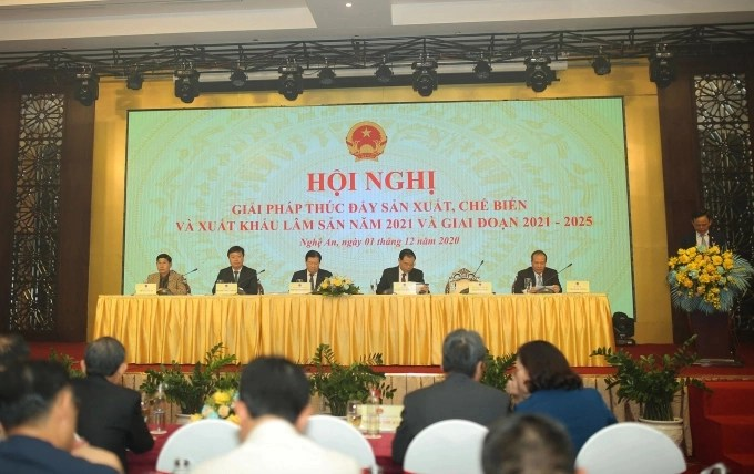 The Conference focused on solutions and plans to make Vietnam's timber industry develop strongly.