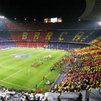 Tour Stadio Camp Nou del FC Barcellona