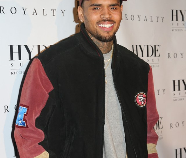 Report Chris Brown Expecting Second Child With Ex Gf Ammika Harris