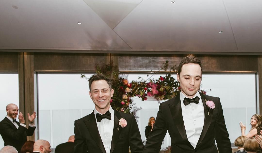 Jim Parsons Dishes On His Wedding
