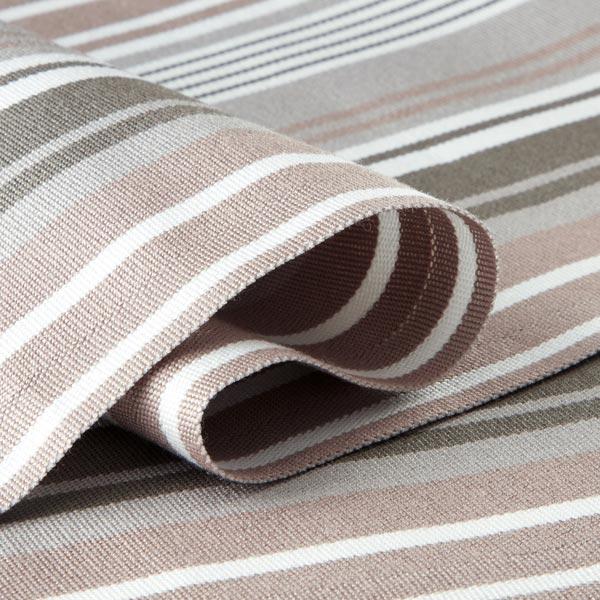 tissu d exterieur pour chaise longue rayures verticales 44 cm gris