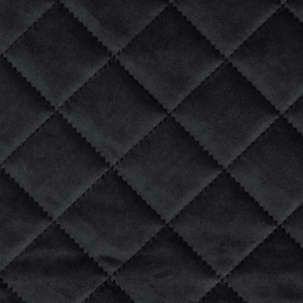 tissu de decoration et d ameublement velours tissu matelasse noir