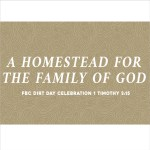 A Homestead for the Family of God (1 Timothy 3:15)