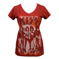 Exclusive - KISS V-Neck Babydoll