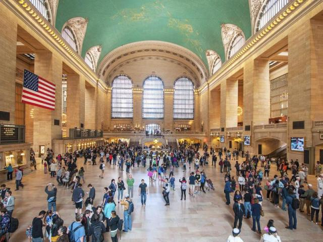 Grand Central Station is popular among visitors and locals alike.