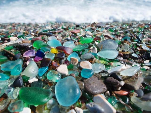Where to Find the World's Most Extraordinary Beach Sea Glass | Far ...
