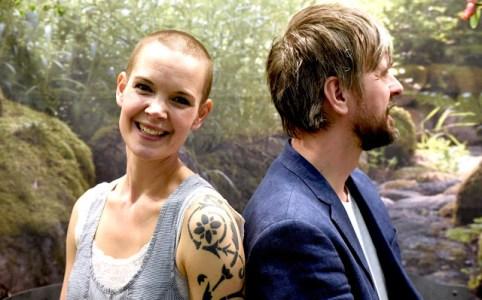Sara och Johannes i podden Två odlare emellan