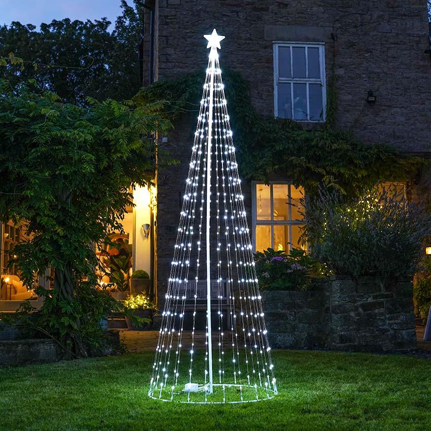outdoor digital led christmas tree