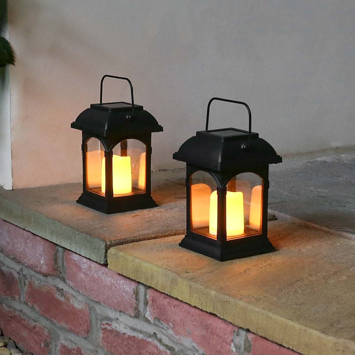 Small Solar Panels Garden Lights