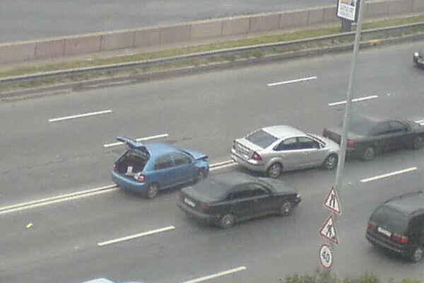 Аварии на питерских дорогах. Фото. Видео. (с. 147,7 ...