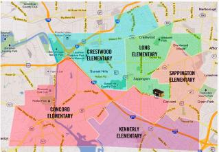 Lindbergh School District Map