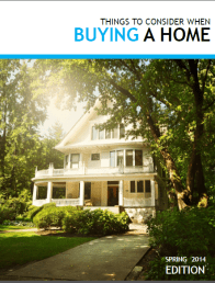 Cover of Things to Consider When Buying a Home