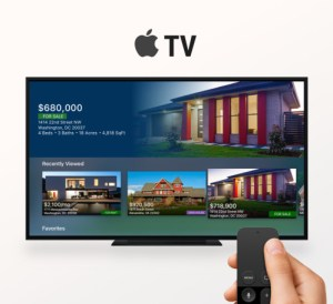 Homesnap and Apple Tv photo