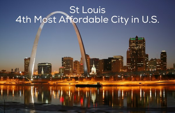 st louis most affordable city for home ownership