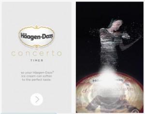 Haagen-Dazs Concerto Timer App