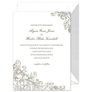 Personalized Stationery Note Cards Wedding Invitations