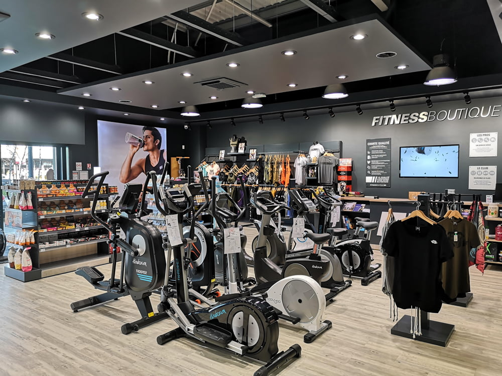 quimper magasin fitness boutique