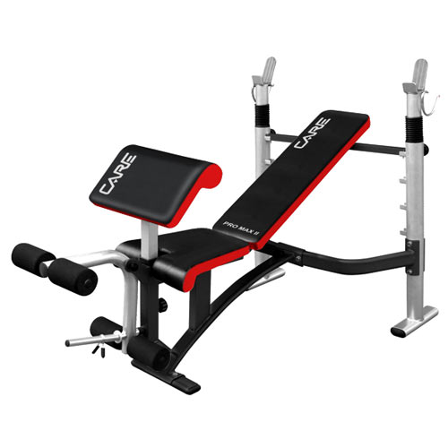 Banc De Musculation PRO MAX II CARE FitnessBoutique