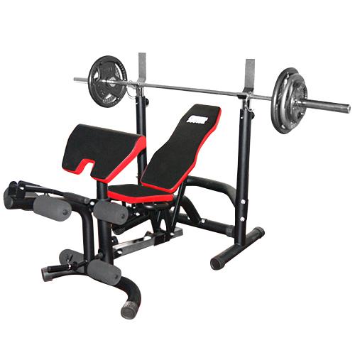 Banc De Musculation Fitness Doctor Black Bench