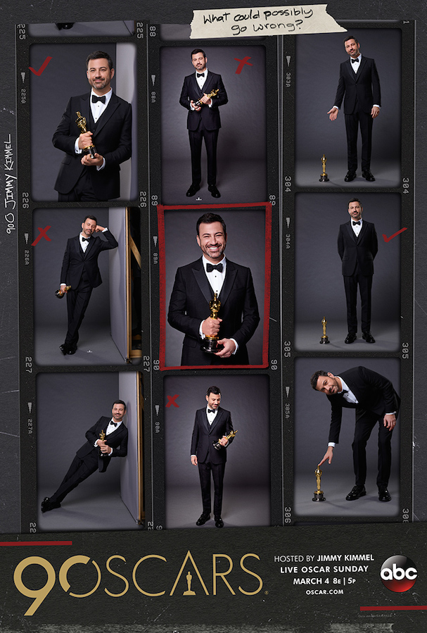 Oscars 2018 Poster