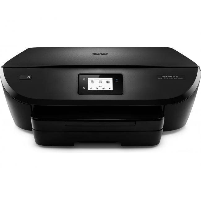 HP ENVY 5548 e-All-in-One Printer, Center, Front, no output