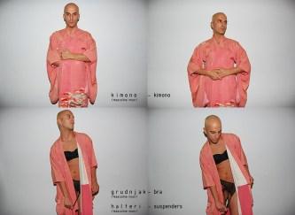 kimono, grudnjak, halteri /kimono, bra, suspenders/