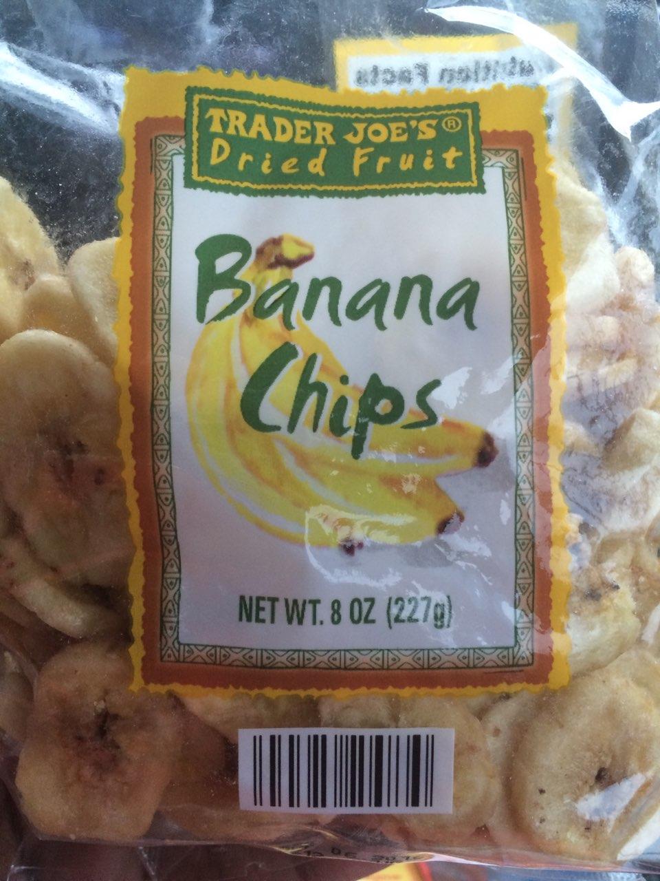 Trader Joes Banana Chips Calories Nutrition Analysis
