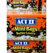 act ii microwave popcorn butter lovers mini bags halloween