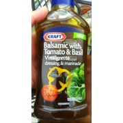 Kraft Dressing Marinade Balsamic Vinaigrette with