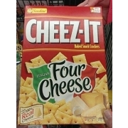 CheezIt Italian Four Cheese Crackers Calories Nutrition