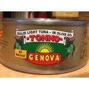 Genova Tuna Solid Light In Olive Oil Tonno Calories