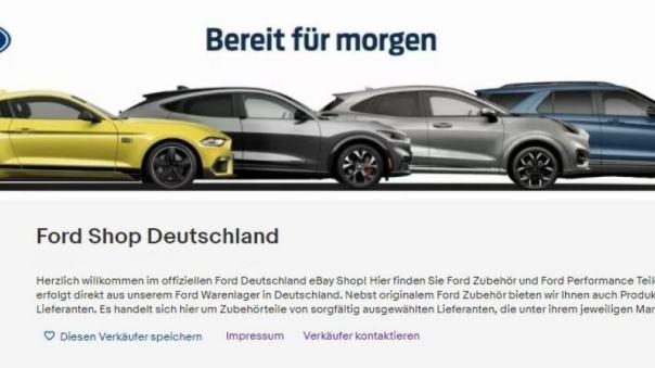 After Sales - Ford eröffnet eigenen Ebay Shop