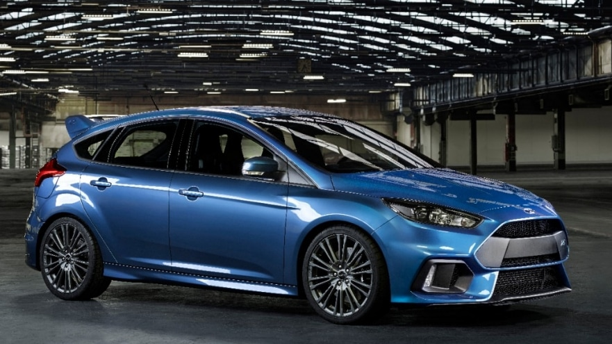 ford previews all new ford focus rs