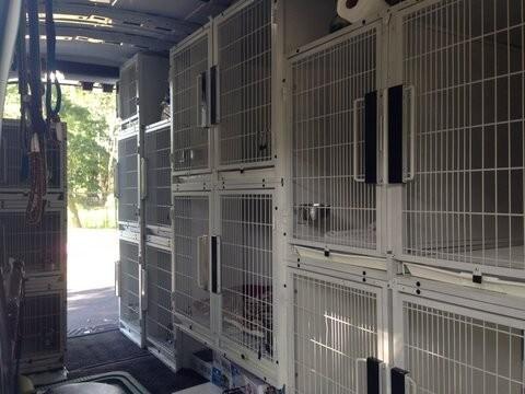 7. Shultz's Guest House's Dog Rescue Van