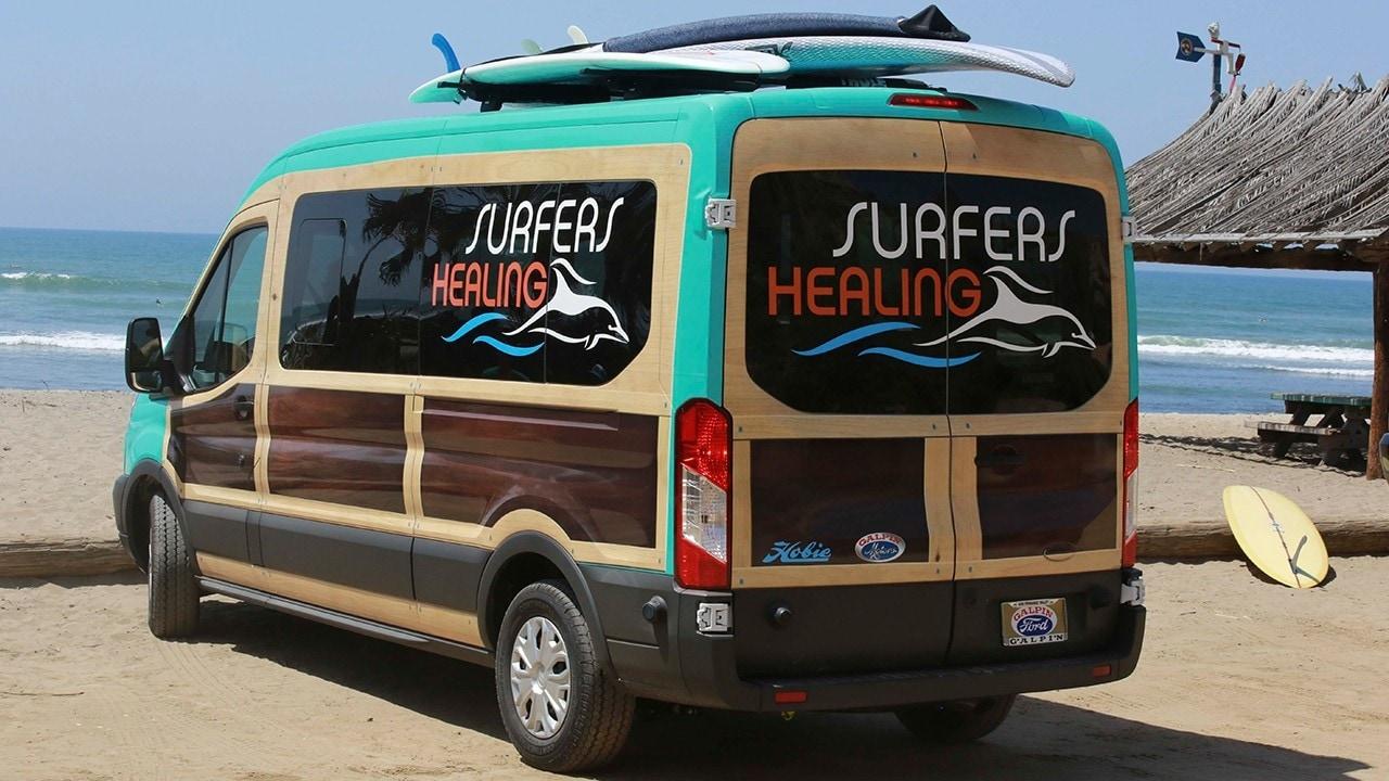 5. Surfers Healing's Woody Van