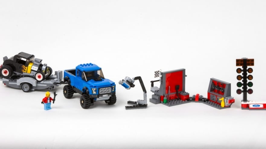 Ford Mustang  F 150 Raptor LEGO Speed Champions sets on sale now     For kids wanting to build their dream car  Ford Mustang and F 150 Raptor  LEGO Speed Champions sets are now available  Kids ages seven and up