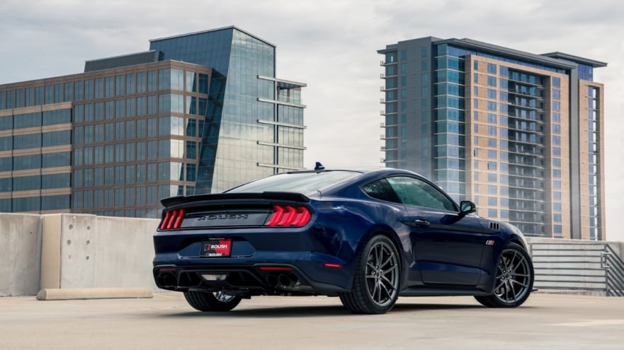 new roush mustang with more power and