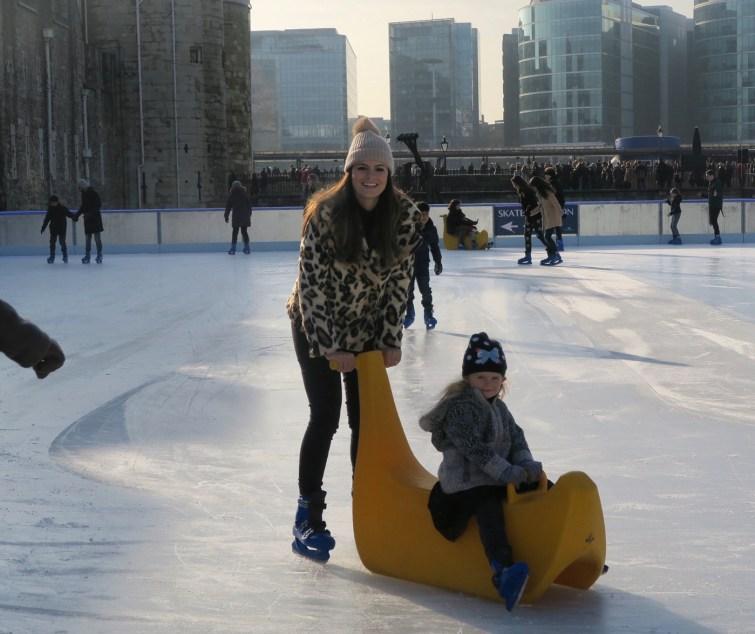 patinação no Gelo na Torre de Londres