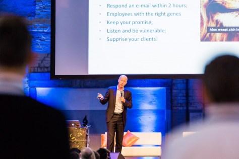 Succesfactoren voor excellente service volgens René Frijters (Foto: Manuel Kniepe, SDN)