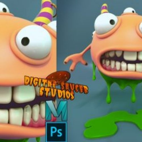Creating a Cartoon Monster in Maya 2020