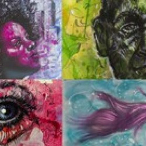 Expressive Drawing, Painting & Mixed Media Techniques Course