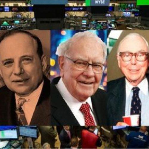 Invierte en acciones como las leyendas de Wall-Street!
