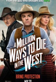 مشاهدة وتحميل فلم A Million Ways to Die in the West مليون طريقة للموت في الغرب اونلاين