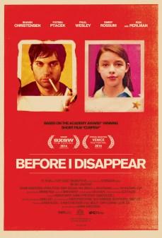 مشاهدة وتحميل فلم Before I Disappear قبل ان اختفي اونلاين