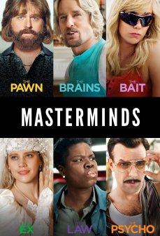 تحميل فلم Masterminds عقول مدبرة اونلاين