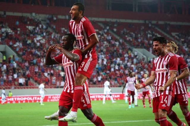 LC: Olympiacos, de Pedro Martins, entra a vencer na segunda pré-eliminatória da Champions