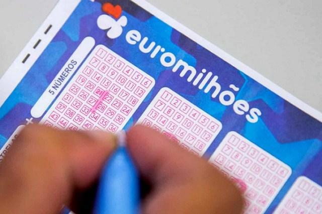 Euromilhões: 'Jackpot' de 143 milhões de euros no próximo concurso